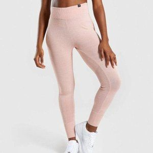 Gymshark Time Out Knit Joggers – Blush Nude